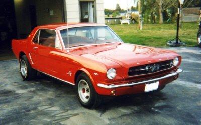 1965 Mustang Colors